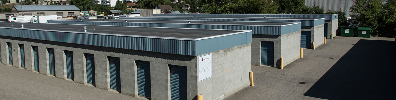 Secure Self Storage vernon, bc